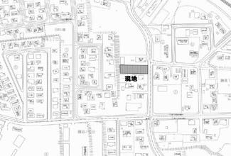 【地図】網走市鱒浦3丁目 売土地
