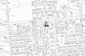 【地図】無加川町 売土地