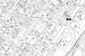 【地図】大通東5丁目 売土地