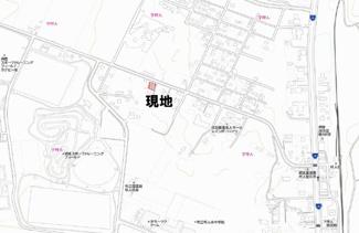 【地図】網走市字呼人 売土地