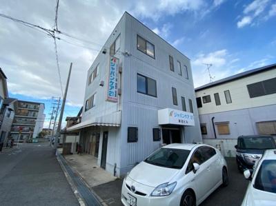 【外観】鳳中町 3階建店舗事務所 駐車7台可! 約72坪 東羽衣駅から12分