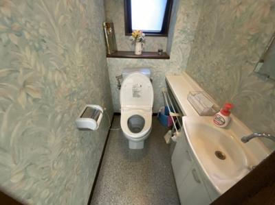 【トイレ】鳳中町 3階建店舗事務所 駐車7台可! 約72坪 東羽衣駅から12分