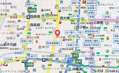 【地図】レオンコンフォート堀江公園