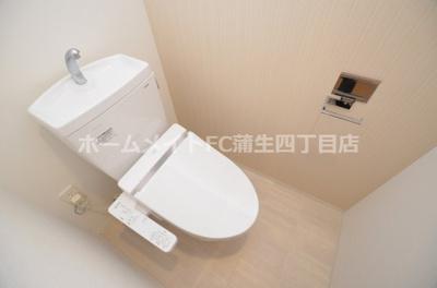 【トイレ】レジュールアッシュザ・パークフロント