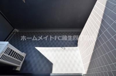 【バルコニー】レジュールアッシュザ・パークフロント