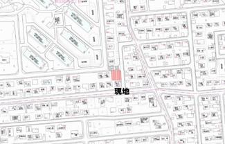 【地図】美山町南5丁目 売土地