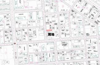 【地図】幸町2丁目 売土地