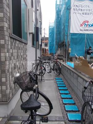 ハーモニーテラス志茂Ⅴの駐輪スペース☆