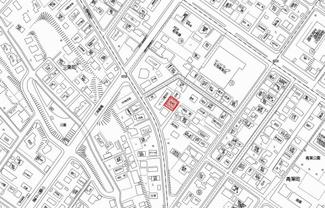 【地図】北見市青葉町 中古戸建