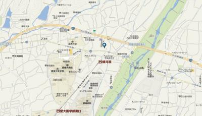 【地図】徳和マンション・