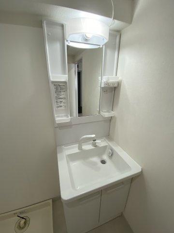 洗面はシャンプードレッサー付きのものに新品交換済み#