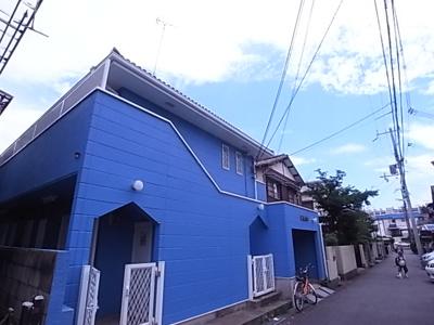 【外観】ブルーハイム