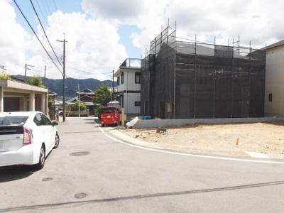【前面道路含む現地写真】クレイドルガーデン京都市伏見区桃山町日向 第1