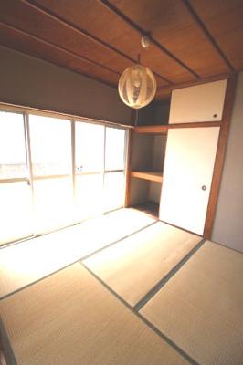 【寝室】平井借家