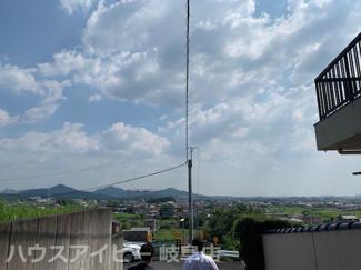 犬山市大字富岡字北洞 中古住宅 敷地広々約170坪 高台眺望良好