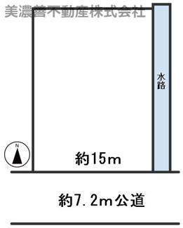 【区画図】55049 岐阜市塩町土地
