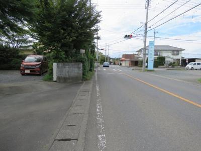【前面道路含む現地写真】坂戸市小山売地