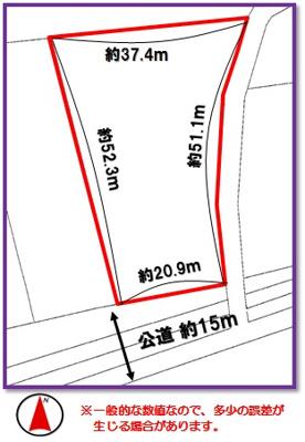 【区画図】金武町字金武(415.93坪)