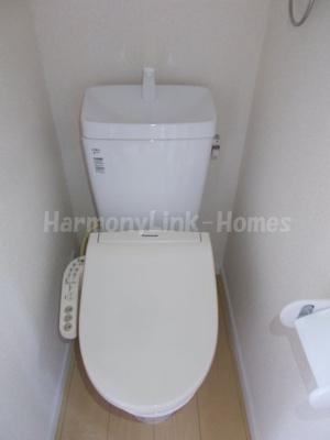 フェリスロータスのゆったりとした空間のトイレです☆