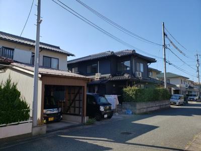 【前面道路含む現地写真】鳥取市気高町下坂本中古戸建て