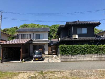 【外観】鳥取市気高町下坂本中古戸建て