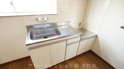 【キッチン】アヴァンメゾン新守谷C