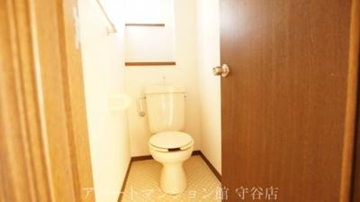 【トイレ】アヴァンメゾン新守谷C