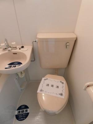 【トイレ】シャンテ堀切菖蒲園Ⅲ
