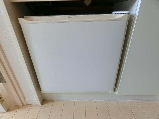 冷蔵庫完備
