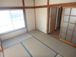 【寝室】第二福田ハイツ