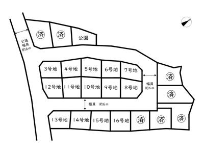 【区画図】たつの市新宮町中野庄/21区画
