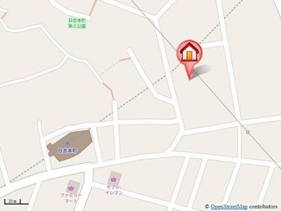 横浜市グリーンライン【日吉本町駅】まで徒歩2分の好立地