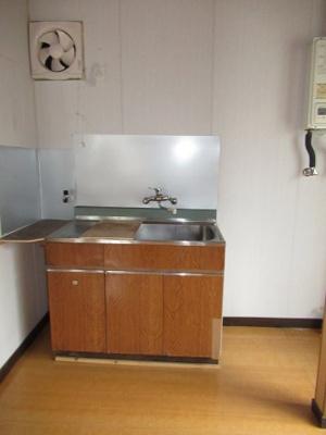 【キッチン】今井アパート(元町)