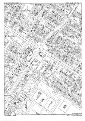 【地図】野村8丁目