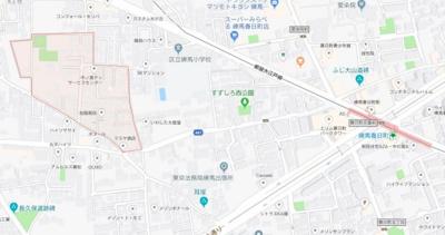 【地図】フォレストフロンティア