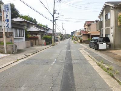 【前面道路含む現地写真】京都市山科区大塚元屋敷町