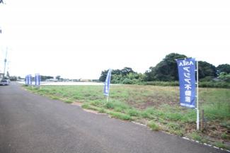 【外観】鶴ヶ島市三ツ木 建築条件なし売地 東武越生線『一本松駅』徒歩32分 【第一小学区】