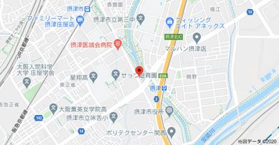 【地図】リバーライフ三島