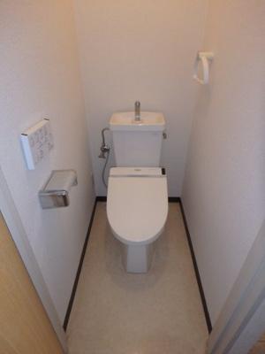 鶴形 M三原マンション 1LDK トイレ