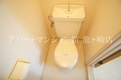 【トイレ】ウッディパレス服部Ⅱ