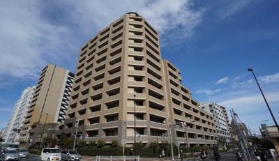 【外観】マークステージ西大島 平成16年築 13階 リ ノベーション済