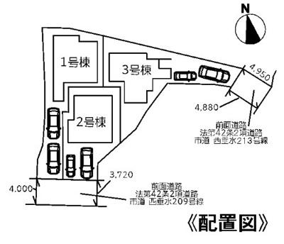 【区画図】神戸市垂水区千鳥が丘1丁目 3号棟 新築戸建