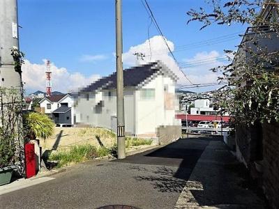 【前面道路含む現地写真】《》神戸市垂水区千鳥が丘1丁目 1号棟 新築戸建