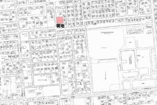 【地図】末広町 売土地