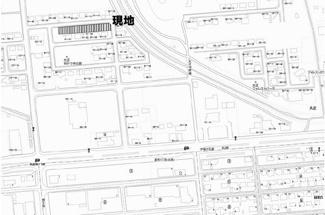 【地図】大正 売土地