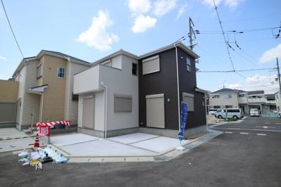 【外観:施工例】堺市北区南花田町 新築戸建