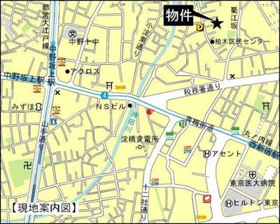 【地図】M.Flat