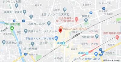 【地図】西形ビル (株)Roots