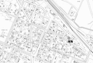 【地図】美幌町字新町2丁目 売土地