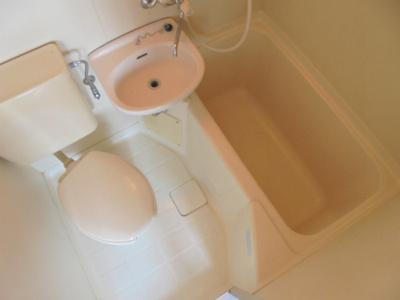 【浴室】ホワイト・イン
